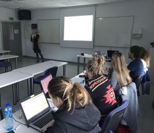 Formación de Metxa en la universidad de Mondragón
