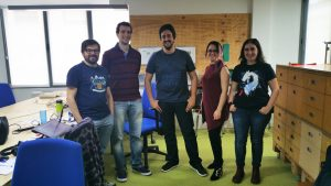 Equipo startup Hunters of Magic