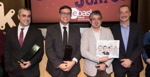 XV Premio Joven Empresario de Álava para la startup ShipnNetpremium